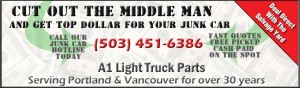 Quick Cash for Used vehicles - We buy Junk Cars - Sell your Car Fast - Portland Oregon OR