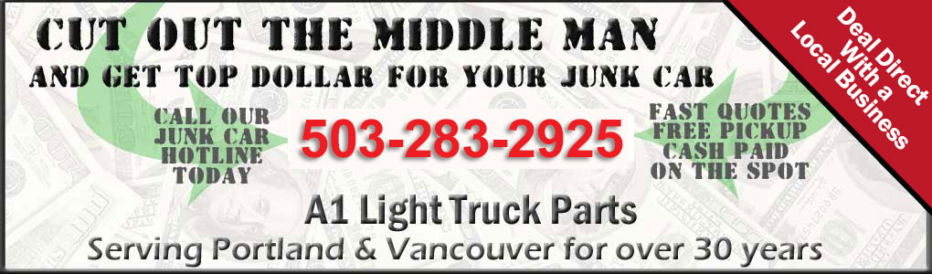 Cash For Junk Cars Online Quote Interesting Get The Most Cash For Junk Cars In Portland 5032832925